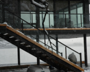 STAR Glass Stair Railing Toronto Ontario Rail Aluminium